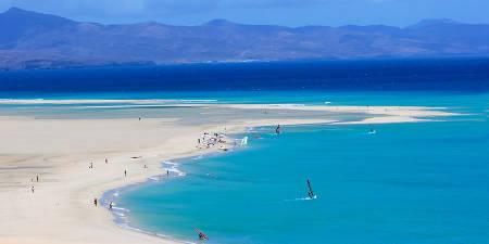 Fuerteventura, turquesa en el Atlántico